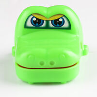 2PCS Crocodile Mouth Tooth Dentist Bite Finger Game Funny Toy Kids Children Gift