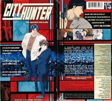 City Hunter Motion Picture Anime VHS Video Tape New English Dubbed
