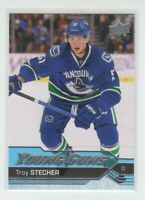 (74888) 2016-17 UPPER DECK YOUNG GUNS TROY STECHER #475 RC