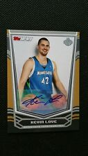 KEVIN LOVE 2008-09 TOPPS TIP-OFF ROOKIE RC AUTO AUTOGRAPH #/20! GOLD SP PARALLEL