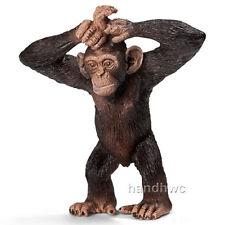 Schleich 14680 Young Chimpanzee Toy Wild Animal Figurine - NIP