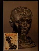 FRANCE PREMIER JOUR FDC YVERT  3309   SCULPTURE DE CLAUDEL   6,70F  PARIS   2000