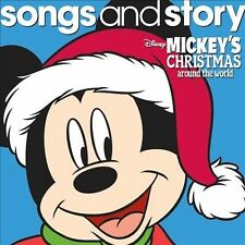 Mickey's Christmas Around the World - Disney Songs & Story Compact FREE SHIPPING