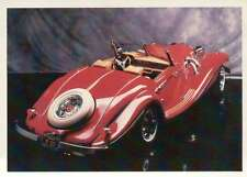 Mercedes Benz 1936 Convertible Dream Cars Trading Card Automobile - Not Postcard