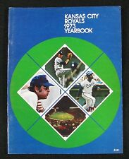 1973 Kansas City Royals OFFICIAL BASEBALL YEARBOOK