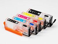 EMPTY Refillable Printer ink Cartridges PGI-250 CLI-251 for Canon Pixma IP7220