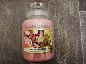 Yankee Candle BRAND NEW Large Jar FRESH CUT ROSES