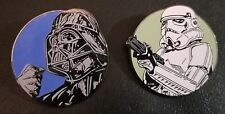 Star Wars Disney Paris Darth Vader, Stormtrooper Pins LE 1200 RARE #'d pins