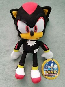 """Sonic the Hedgehog Shadow 12"""" Large Plush Stuffed Licensed Toy NEW"""