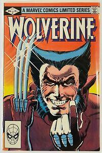 Wolverine Limited Series #1-4 1982 Frank Miller Claremont. Marvel Comics. VF/NM