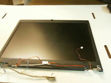 43020  Used complete lcd assembly w/wifi leads hinges  latch from hp 2510p works