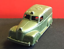 Old Vtg Collectible Tootsie Toy Made In USA Army Medical Truck