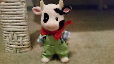 Sylvanian Families Cow Father Farmer Original Clothes Great Condition