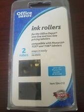 Office Depot Brand Ink Rollers For Monarch 1131/1136 Pricemarkers, Pack Of 2
