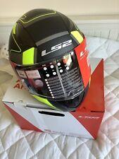 LS2 Rapid Carrera Motorcycle Helmet BNIB Size Medium