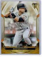 Buster Posey 2019 Topps Triple Threads 5x7 Gold #64 /10 Giants