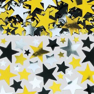 Metallic Stardust STARS CONFETTI (14g) {Amscan} (Valentines/Celebration/Party)