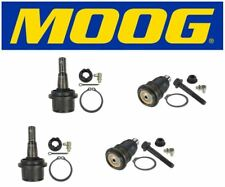 Moog 2 Upper & 2 Lower Ball Joint Kit 2006 Saab 9-7x K6663 / K6664