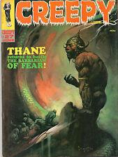 Creepy #27 - Frazetta Thane Barbarian Of Fear - 1969 (Grade 7.0)