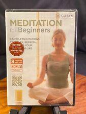 Meditation for Beginners (DVD, 2012)