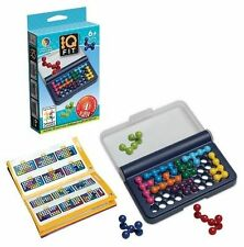 Smart Games IQ Fit 120 Challengers Multi Level Logic Game Easy to Expert