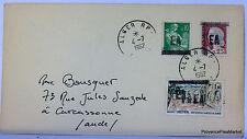 ALGERIE SURCHARGEE EA 1962 ALGER RP ENVELOPPE      EA36