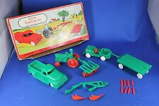 O/S - Plasticville - #1302 Farm Implement - Green with Red - Excellent Condition
