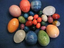 Decorative, Opal Eggs, more than 20, different sizes