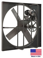 """New listing Exhaust Panel Fan - Industrial - 60"""" - 5 Hp - 208-230/460V - 3 Ph - 44,600 Cfm"""