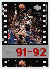 Michael Jordan 1998 Upper Deck Timeframe23 East Scoring Leader Basketball card
