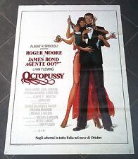OCTOPUSSY Operazione Piovra manifesto poster 007 James Bond Roger Moore Spy