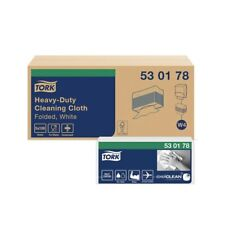 More details for tork heavy-duty cleaning cloth white w4 530178