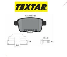 2469201 Kit pastiglie freno a disco post.Renault (MARCA TEXTAR)
