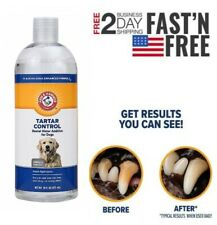 New Water Additive Dogs Reduces Plaque Tartar Control Pet Dental Care 16 Fl Oz