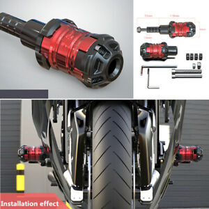 CNC Alloy Motorcycle Frame Slider Anti Crash Engine Protection Falling Protector