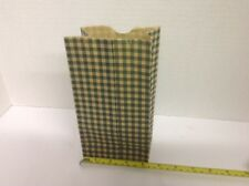 "Lot of 500 4.25 x 2.5 x 8"" Green Shopping Gift Bags"