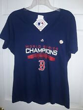 Boston Red Sox 2018 World Series Champions Fenway Park champs T-shirt - Ladies L