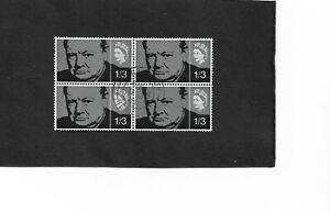 GB 1965 Churchill Blocks of 4 (2)
