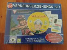 Verkehrserziehungsset mit Elternbuch, Quizkarten und PC- Lernspiel, OVP