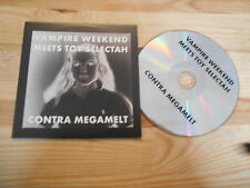 CD Pop Indie Vampire Weekend - Contra Megamelt (3 Song) Promo XL-RECORDS
