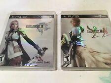 Final Fantasy XIII & Final Fantasy XIII-2 PlayStation 3 PS3 2 Game Lot