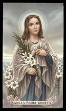 santino-holy card*S.MARIA GORETTI 8