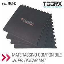 TOORX - 4PZ 61x61x1,2cm PAVIMENTAZIONE COMPONIBILE ad INCASTRO TATAMI + 2 BORDI