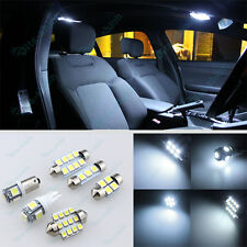 Bright White LED Lights Interior Package Kit For Subaru Forester 1998-2015 -6Pc