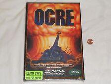 NEW Ogre Amiga Game SEALED - Rare NOT FOR RESALE Version oger ogor Steve Meuse