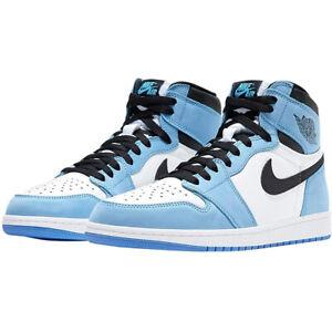 Air Jordan1 Mid Retro University Blue Homme Femme Baskets Décontractées Basses