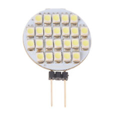 LAMPADINA LAMPADA G4 24 LED 3528 SMD BIANCO PURO 2W 12V DC Z7R8 R8V4