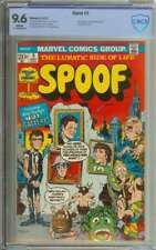 SPOOF #5 CBCS 9.6 WHITE PAGES