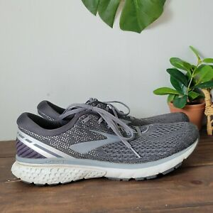 Brooks Ghost 11 Gray Athletic Running Shoes 1102881D003 Mens Size 13 D