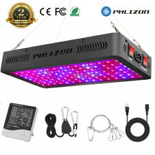 Phlizon 600W LED Plant Grow Lights W/ Daisy Chain for indoor Hydro VEG & Flower